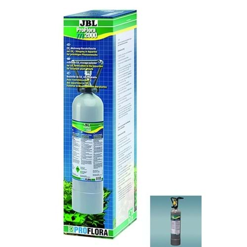 Jbl Proflora M2000 C02 Set 2000 G. Co2 Tüp