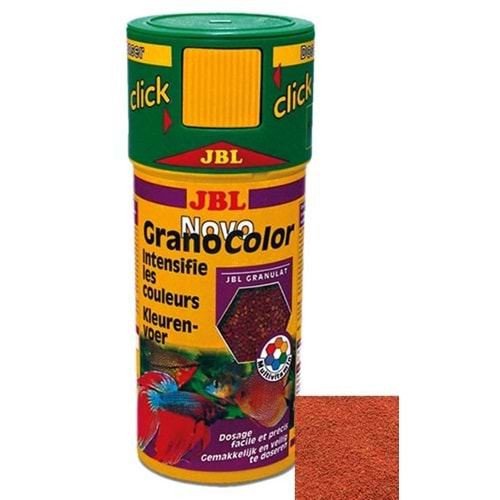 Jbl Novogranocolor 250Ml-107 G. Granül Yem